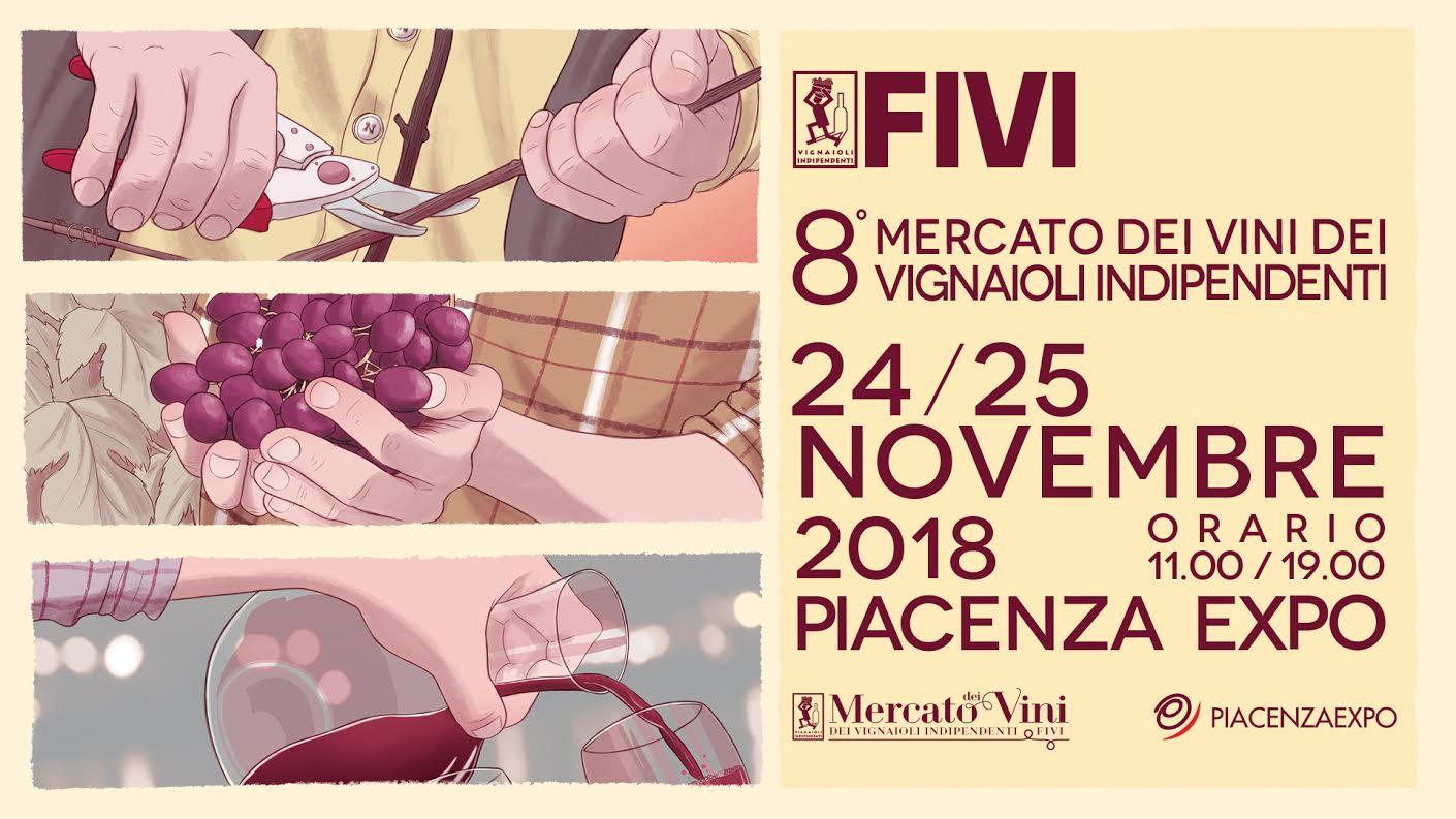 Mercato dei Vini FIVI – Piacenza